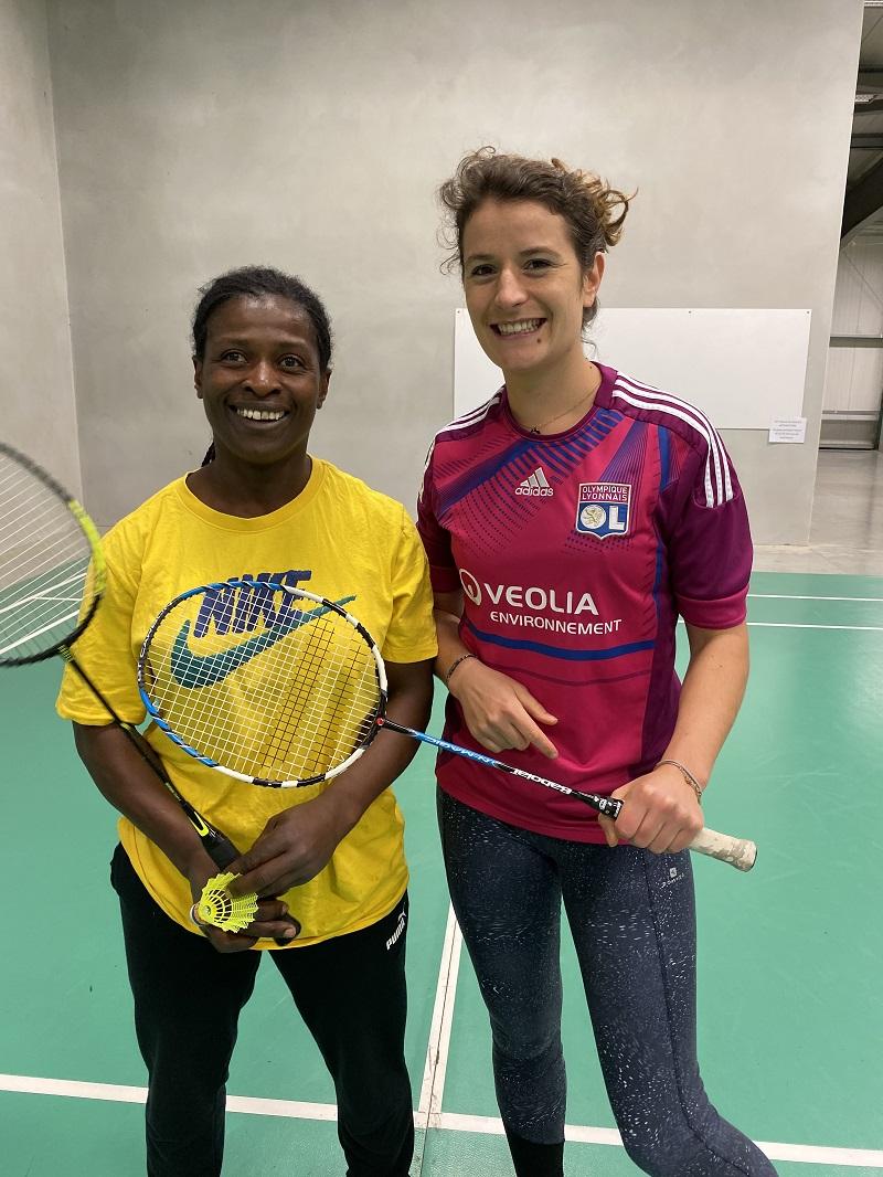 badminton en salle pau lescar