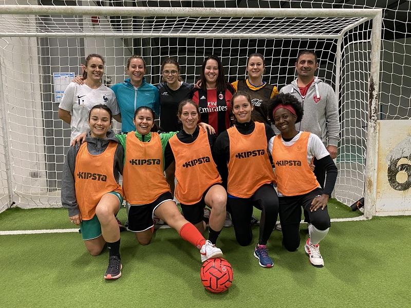 équipe football en salle féminin pau