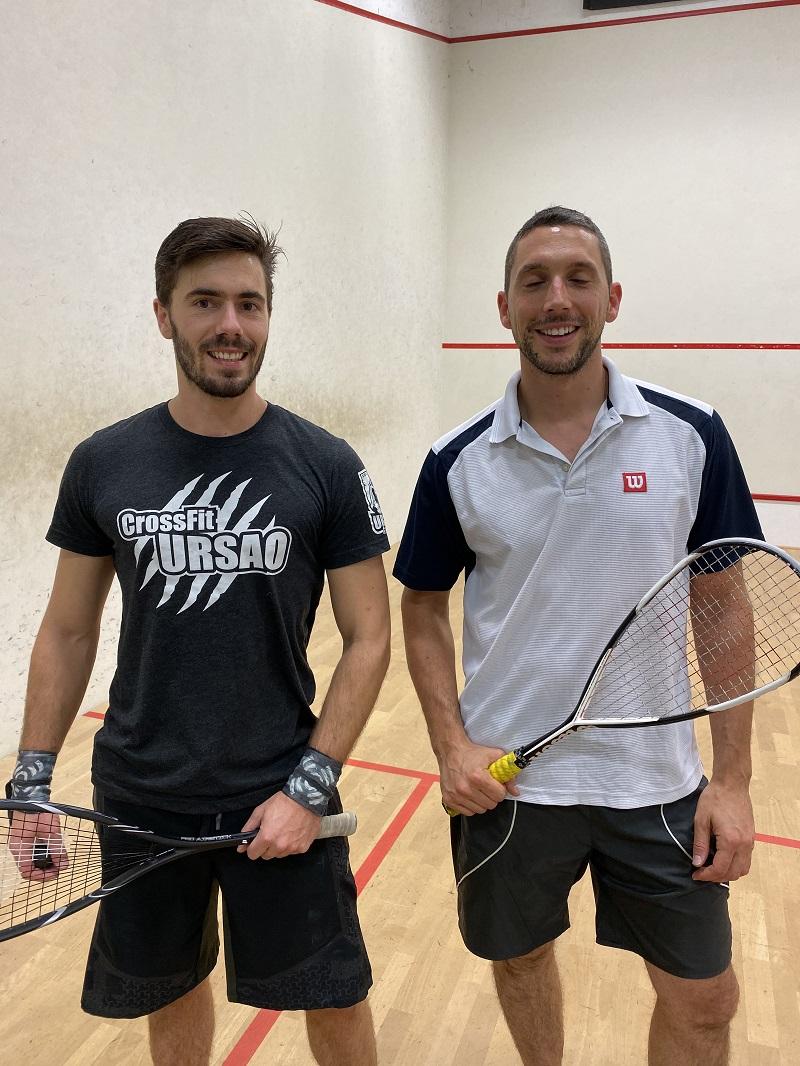 jouer au squash à pau lescar