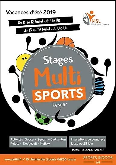 stage multisports Pau Lescar Béarn