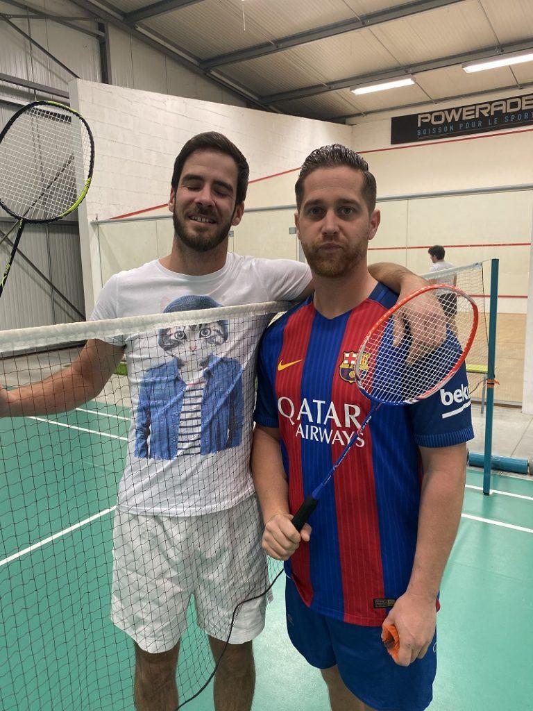louer terrain badminton pau lescar